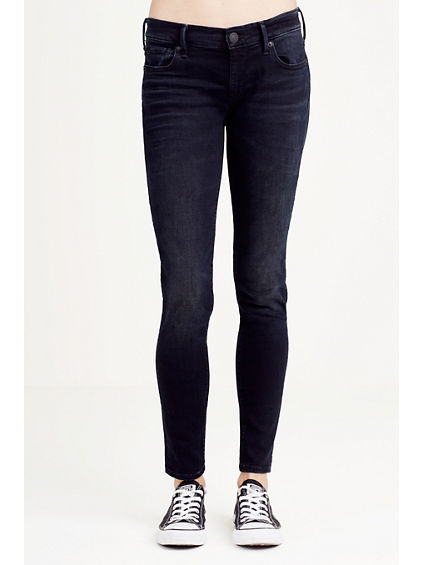 CASEY SUPER SKINNY BLACK WOMENS JEAN