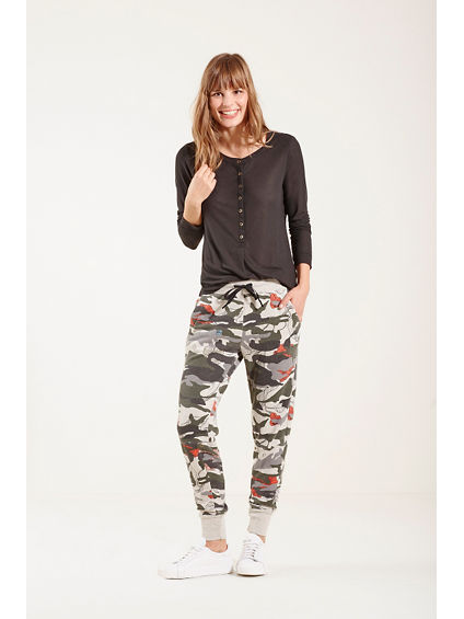 CAMO FLORAL WOMENS SWEATPANT