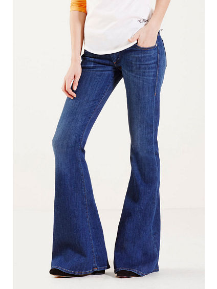 KARLIE LOW RISE BELL BOTTOM WOMENS JEAN