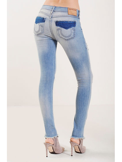 HALLE SUPER SKINNY WELT POCKET WOMENS JEAN