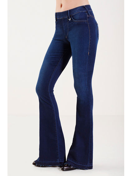 THE RUNWAY FLARE WITH LET OUT HEM WOMENS  LEGGING