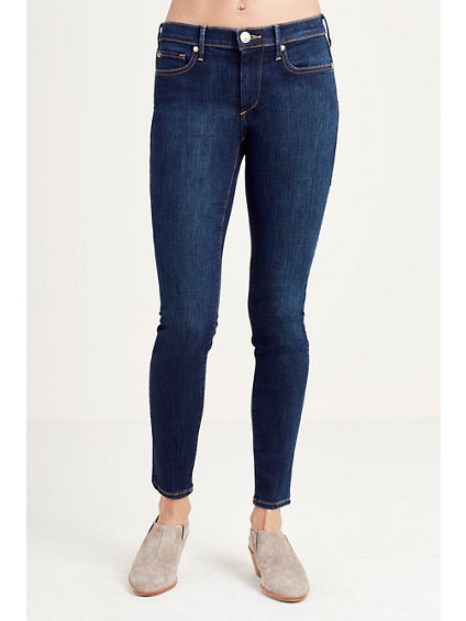 CORA HIGH RISE STRAIGHT CROPPED WOMENS JEAN