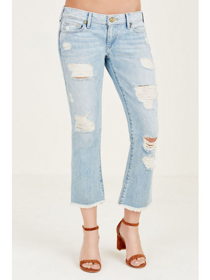 KARLIE FLARE CROPPED WOMENS JEAN