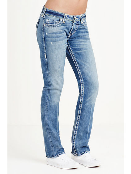 BILLIE STRAIGHT SUPER T WOMENS JEAN - True Religion