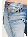 BILLIE STRAIGHT CABLE STITCH WOMENS JEAN