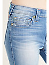 HALLE MID RISE SKINNY CROPPED WOMENS JEAN