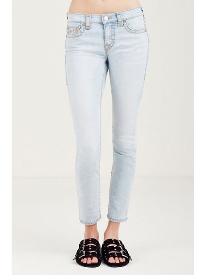 HALLE SUPER SKINNY SUPER T WOMENS JEANS