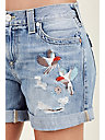 JAYDE EMBROIDERED WOMENS SHORT