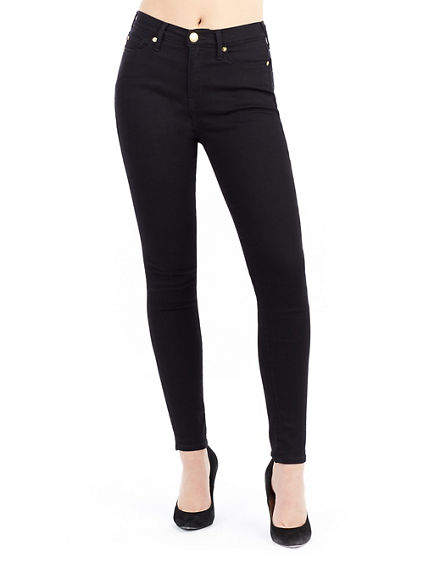 HALLE HIGH RISE SUPER WOMENS SKINNY JEAN