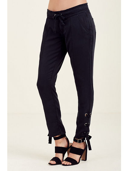 LACE UP WOMENS PANT