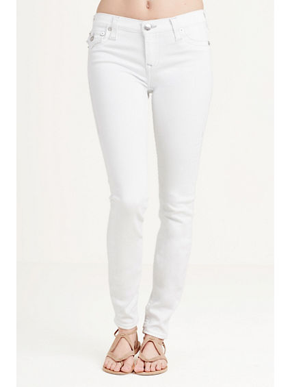 SUPER SKINNY WHITE WOMENS JEAN