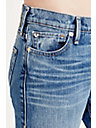 LIV EXAGGERATED CUFF RELAXED WOMENS JEAN