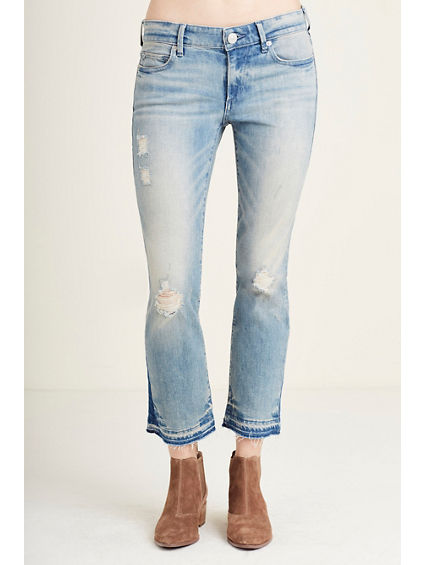 CORA STRAIGHT CROP WOMENS JEAN