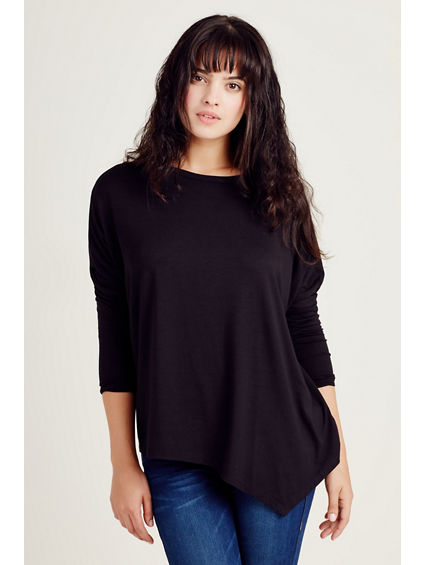 ASYMETRICAL WOMENS TOP