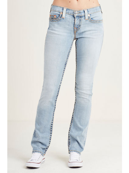 SLIM STRAIGHT BIG T WOMENS JEAN