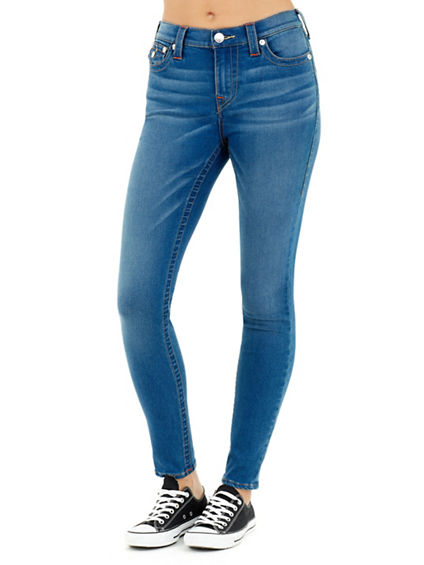WOMEN'S SUPER SKINNY HIGH RISE JEAN