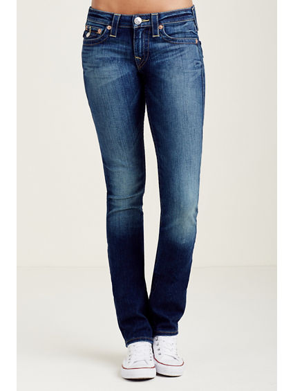 WOMEN'S SLIM STRAIGHT FIT JEAN