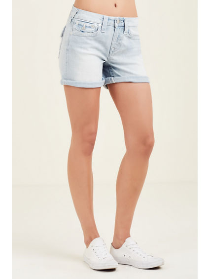 CURVY FLAP WOMENS SHORT