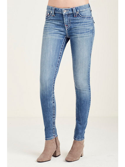 SUPER SKINNY FLAP BIG T WOMENS JEAN