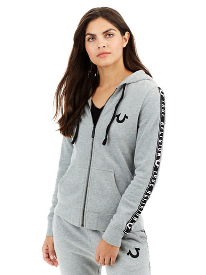HORSESHOE ACTIVE ZIP UP WOMENS HOODIE