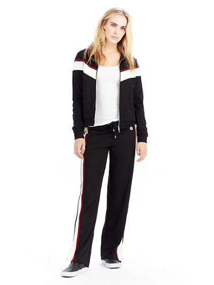 WOMENS RETRO STRIPE TRACK PANT