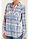 RELAXED WOMENS BUTTON UP