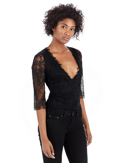 DEEP V WOMENS BODYSUIT
