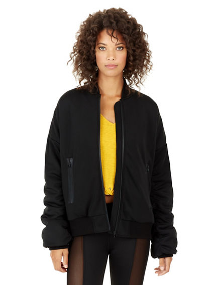 OVERSIZED BOMBER  WOMENS JACKET
