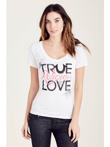TR LOVE WOMENS TEE