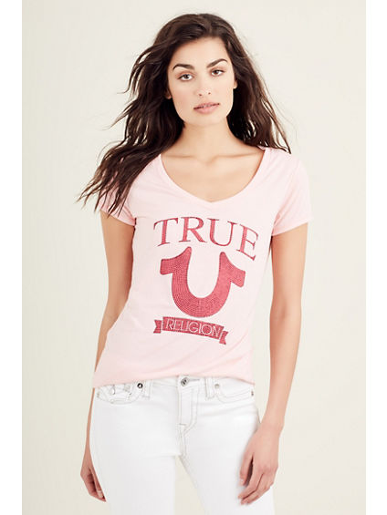TRUE HORSESHOE WOMENS TEE