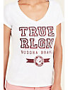 TRUE U CRYSTAL WOMENS TEE