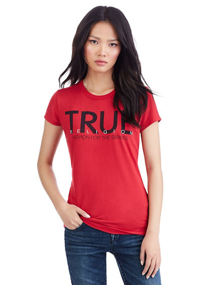 CLEAN TRUE WOMEN CREW NECK TEE