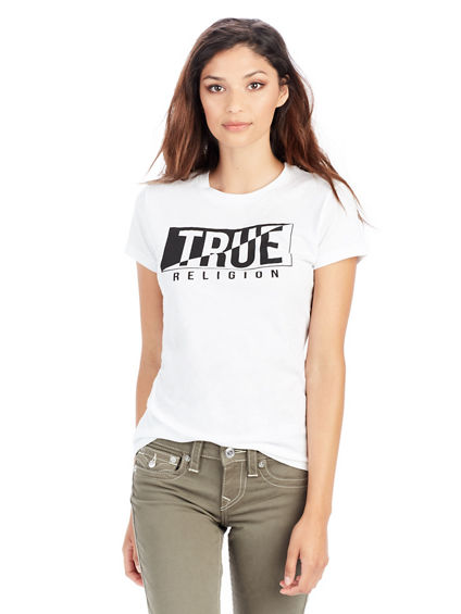 MIRROR TRUE CREW NECK WOMENS TEE
