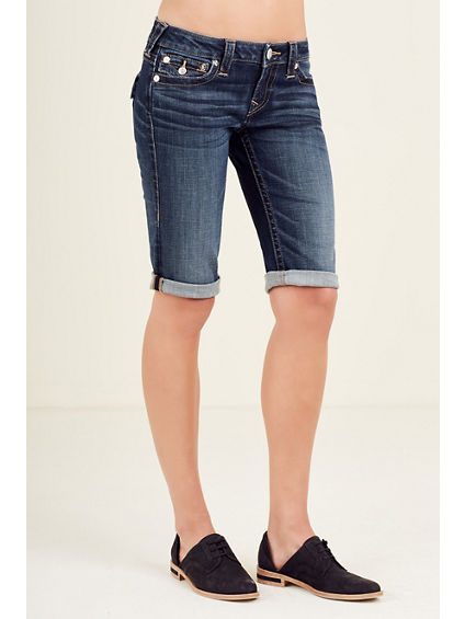 KNEE LENGTH WOMENS SHORT