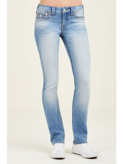 SLIM STRAIGHT FLAP WOMENS JEAN