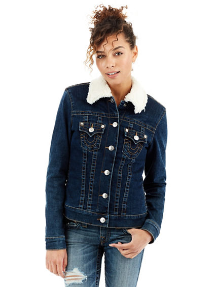 SHERPA TRUCKER WOMENS JACKET