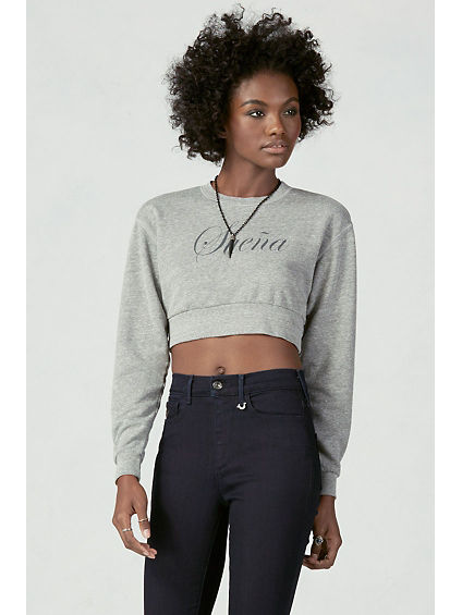 JOAN SMALLS SUENA CROPPED WOMENS SWEATSHIRT