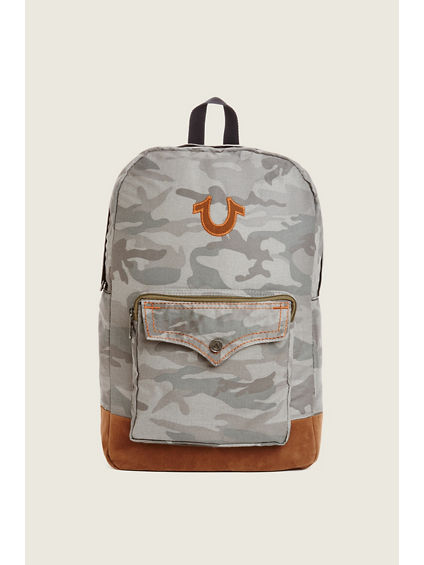 CAMO HORSESHOE BACKPACK