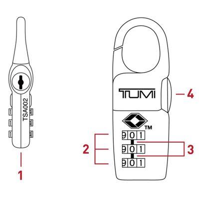 Setting Your Tumi Lock Tumi United States