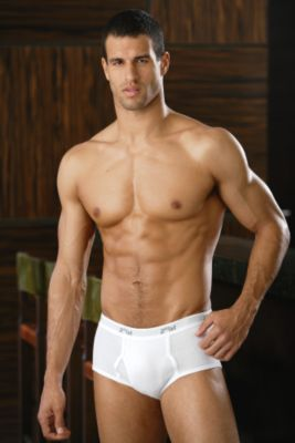 2(X)ist 3-Pack Fly-Front Briefs