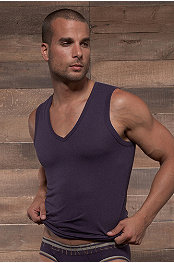 C-in2® Zen Color V-Neck Muscle Tank