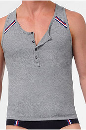 2(x)ist® Athletic Button Tank