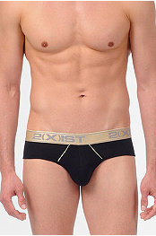 2(X)Ist®  Gold Contour Pouch Brief