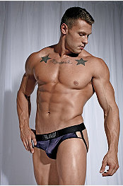 Andres Velasco® Midnight Jockstrap