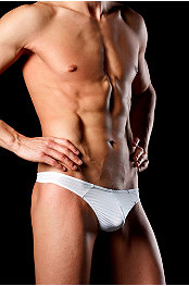 Good Devil® Horizonal Lines Thong