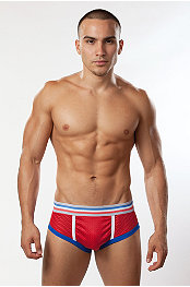 Bon Bon Color Athletic Mesh Brief