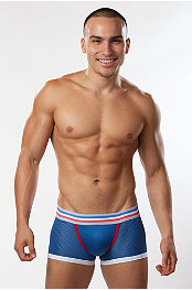 Bon Bon Color Athletic Mesh Trunk