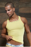 C-IN2® Pop Color Square Neck Tank