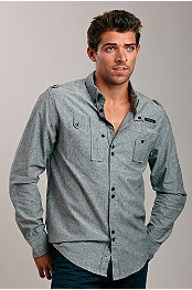 Wt:02® Boston Chambray Shirt