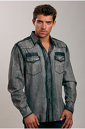 Smash® Washed Denim Shirt